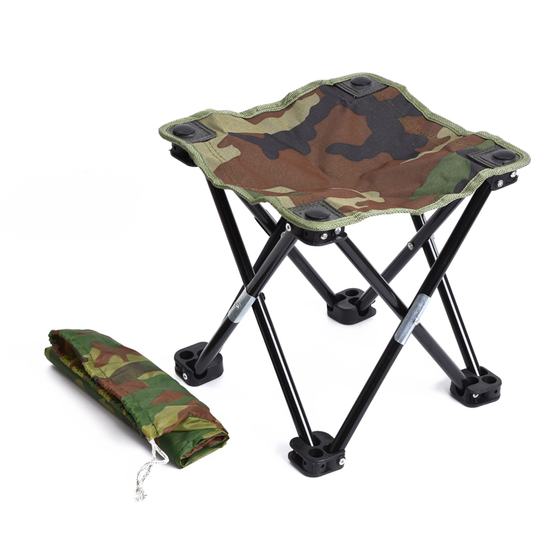 Marvelous Camouflage Contraction Folding Stool Recreational Fishing Chair Portable Stool Fishing Gear Inzonedesignstudio Interior Chair Design Inzonedesignstudiocom