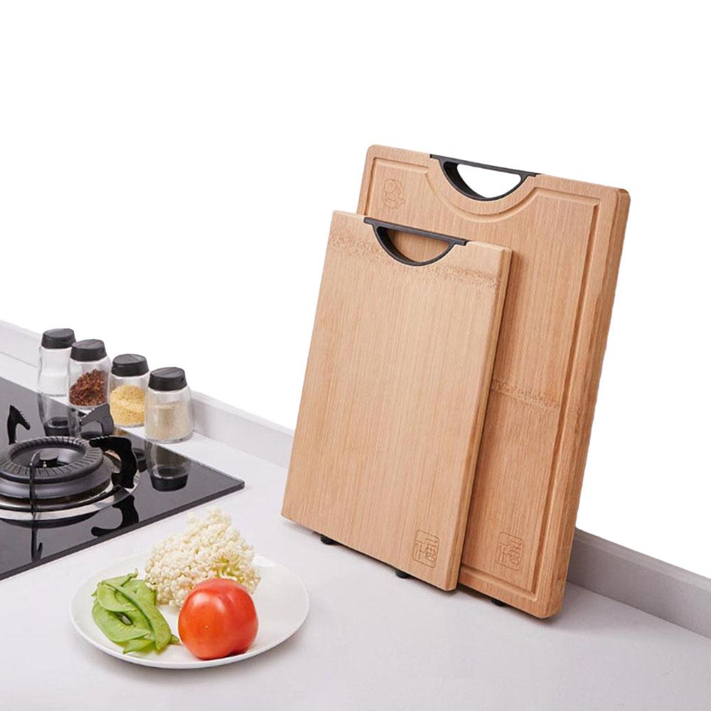 РазделочнаядоскаизбамбукаYIWUYISHIИнструмент Разделочная доска из бамбука и прямоугольника Кухонные принадлежности от Xiaomi Y
