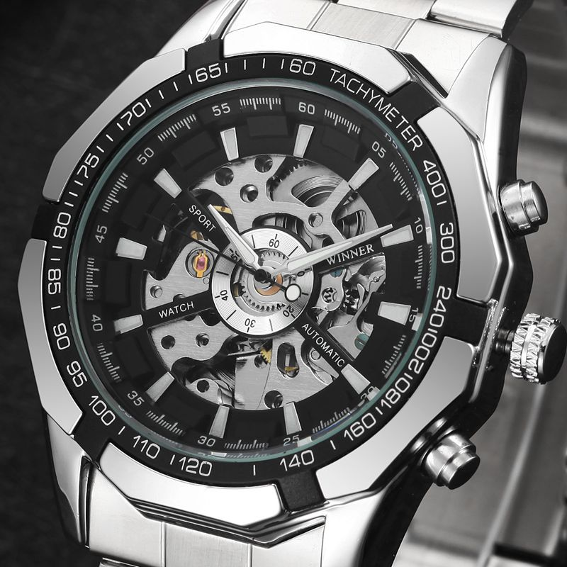MN4493 Men Full Stainless Steel Watch