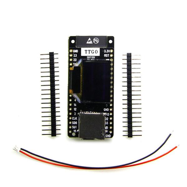 LILYGO® TTGO T2 ESP32 0.95 OLED SD Card WiFi + bluetooth Module Development Board