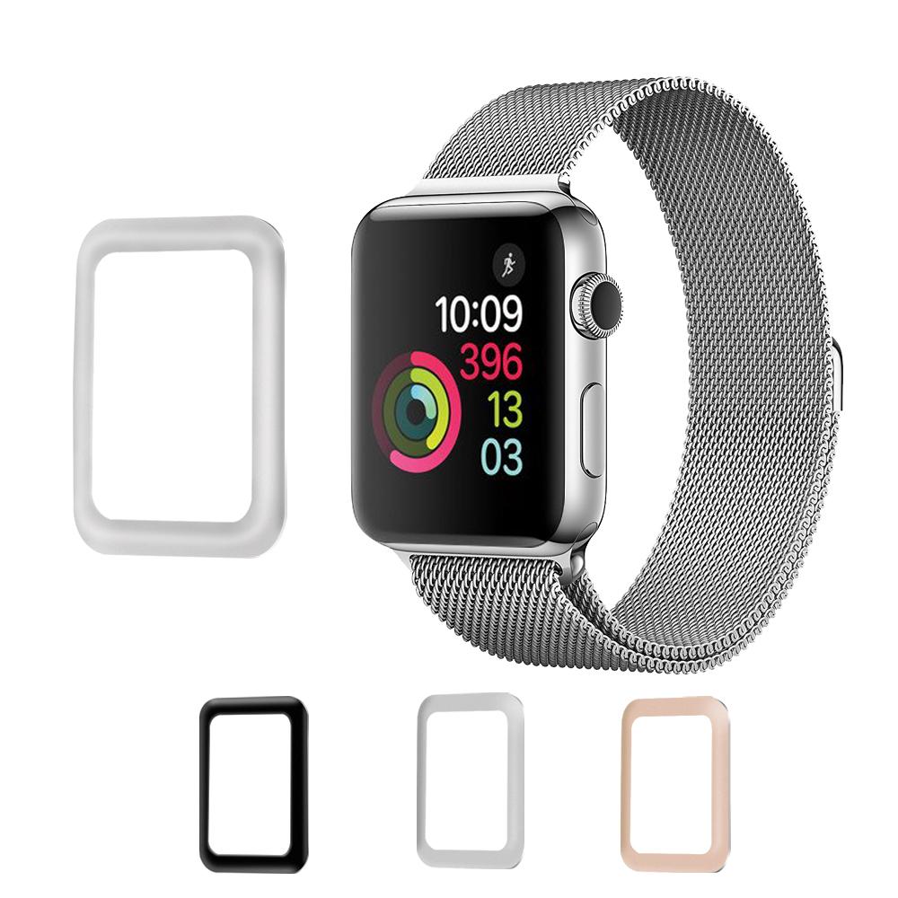 Алюминиевый сплав Edge 0,2 мм закаленное стекло для протектора экрана для Apple Watch Series 3 42 мм