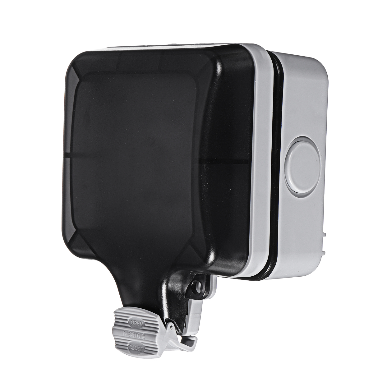 New Ip66 Weatherproof Outdoor Box Wall Socket 13a Double Universal    Uk Switched Outlet With Usb