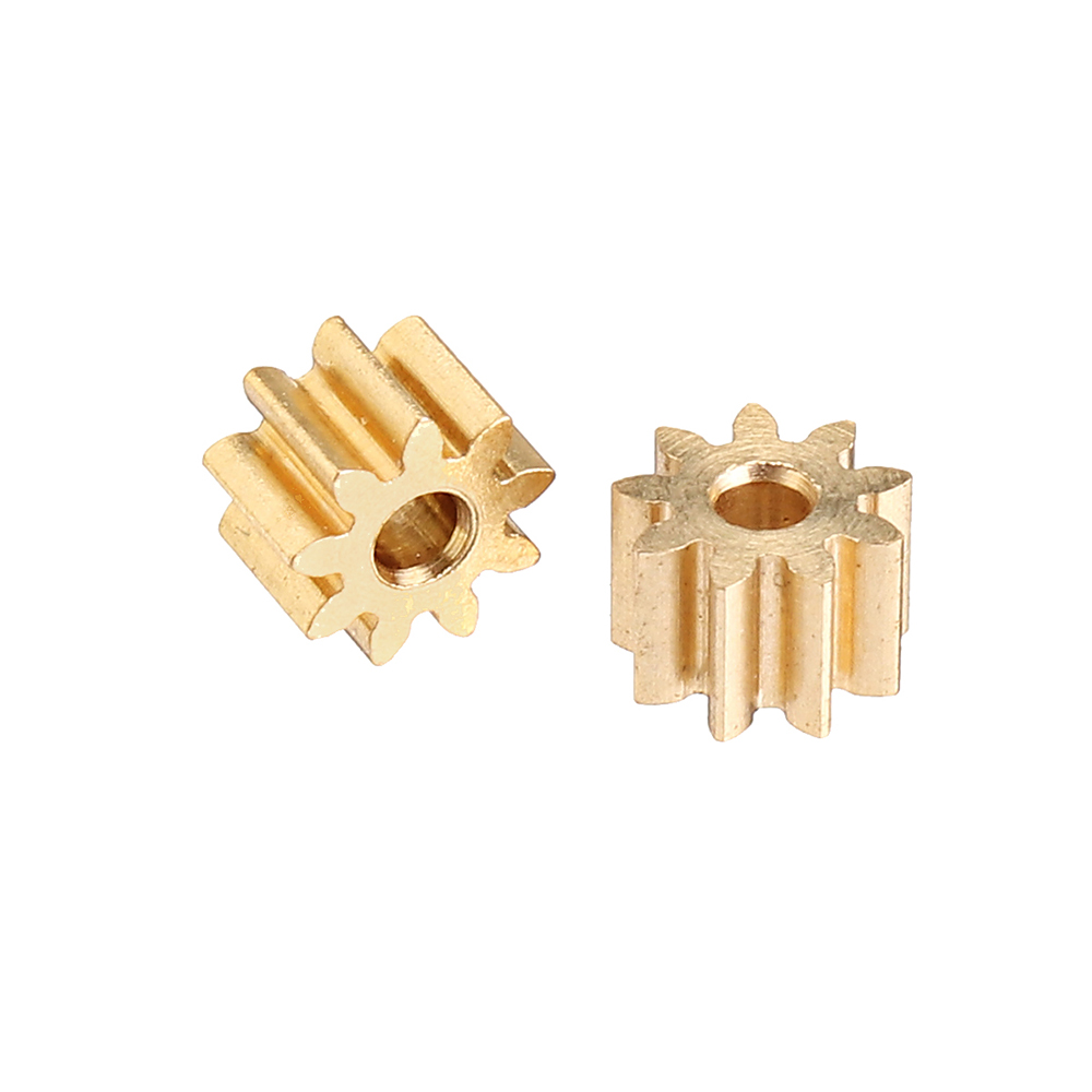 2PCS XK K130 RC Helicopter Parts Steel Motor Gear