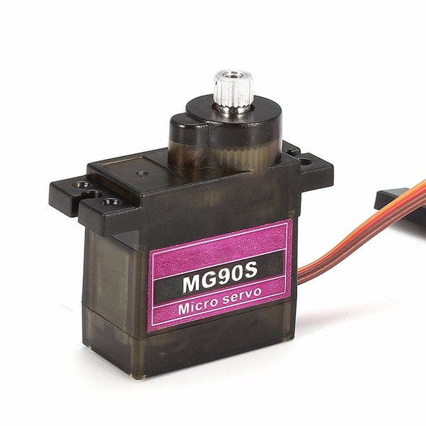 MG90S Metal Gear RC Micro Servo for ZOHD Volantex Airplane RC Helicopter Car Boat Model