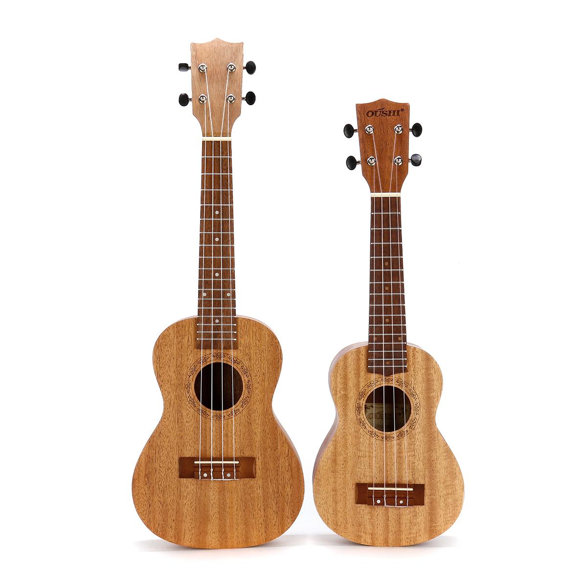 21 23 дюймов 4-х струнная гитара укулеле из красного дерева укулеле с Сумка фото