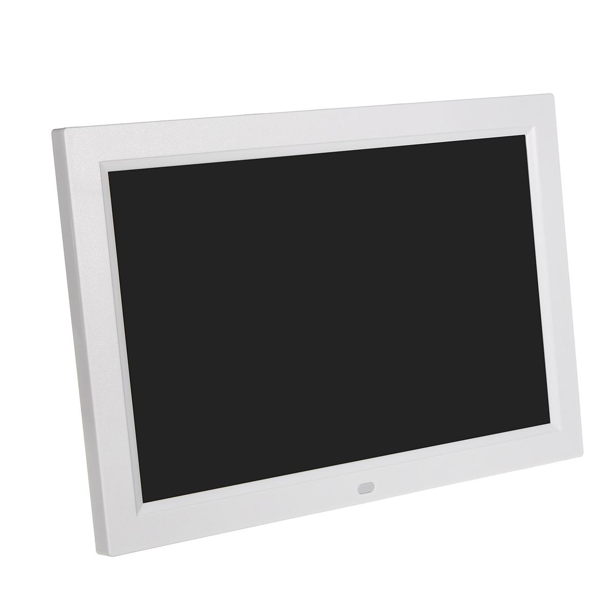 12 дюймов 1080P Цифровая фоторамка с поддержкой карты памяти Дистанционное Управление USB