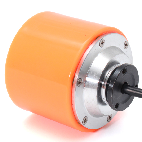 DIY Electric Skateboard Hub Motor Longboard PU Wheel Built-in W/Brushless  Sensored Motor