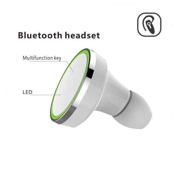 Q600 5V Car Bluetooth Headset  Dual Output Automatic Charging SUPPORT HSP, HFP, A2DP and AVRCP, SPP