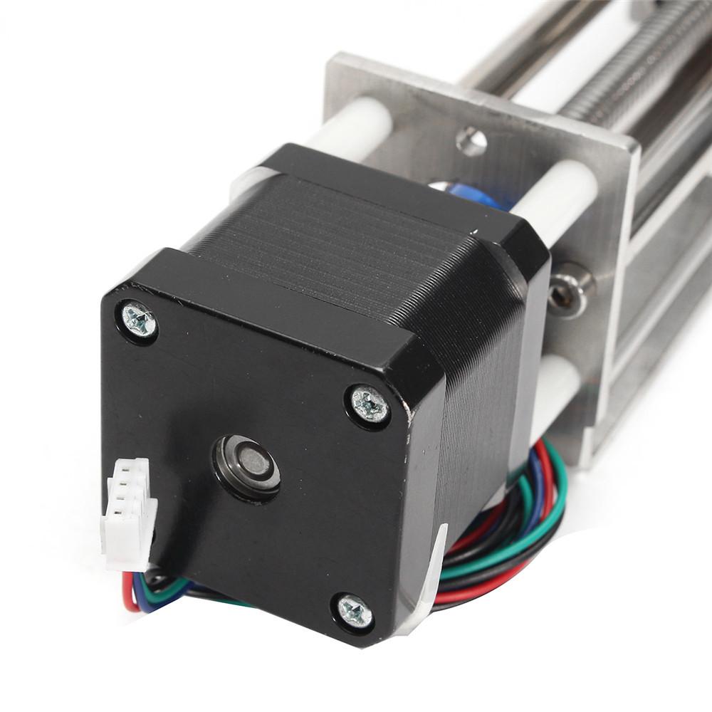 Machifit 150mm Slide Stroke Mini CNC Z Axis Linear Motion Milling Engraving Machine with Stepper Mot