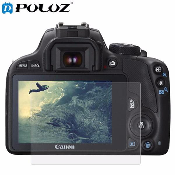 PULUZ камера 2.5D Curved Edge 9H Поверхностная твердость для закаленного стекла Протектор для экрана Canon 100D M3