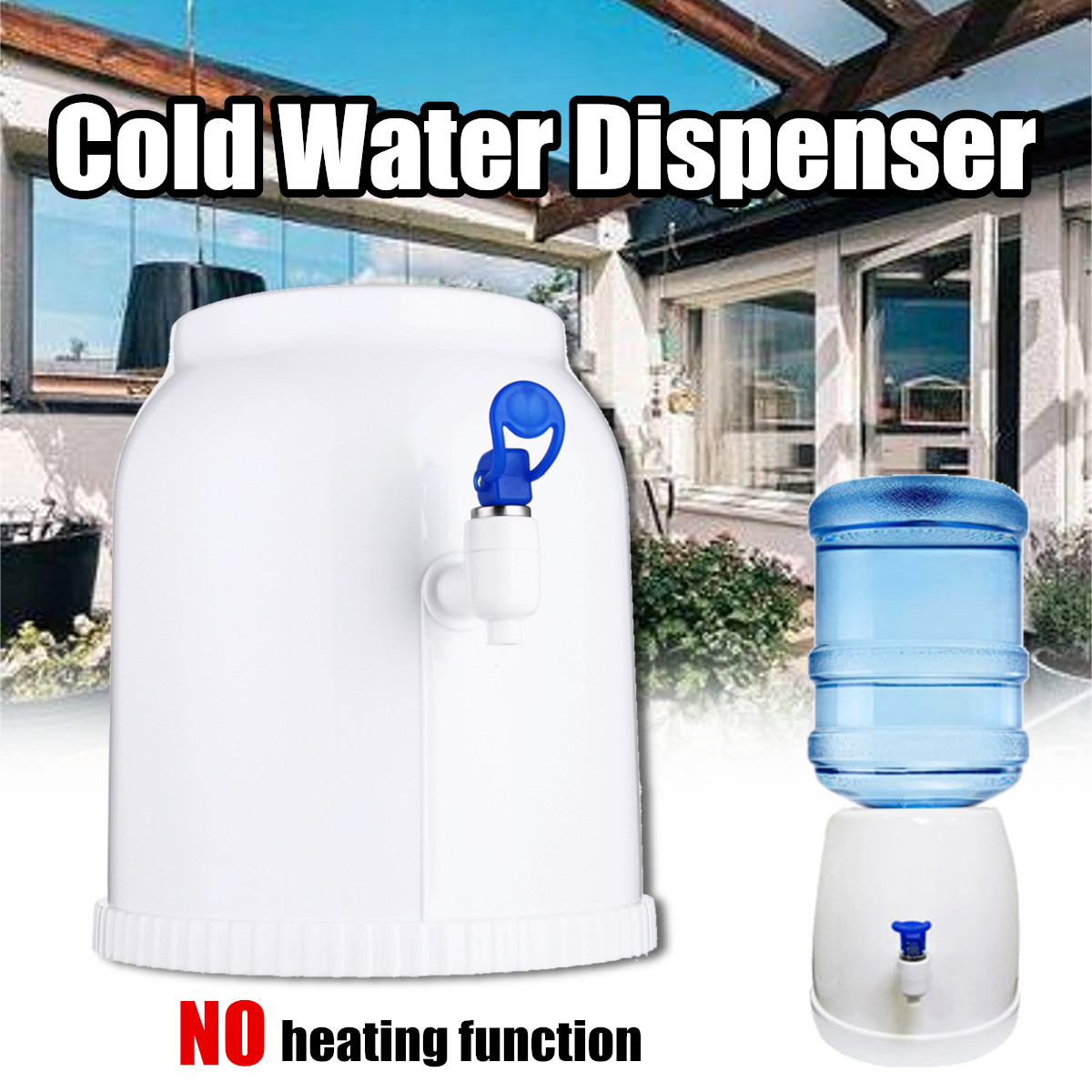 Cold Water Dispenser Portable Countertop Cooler Drinking Faucet Tool Water Pump