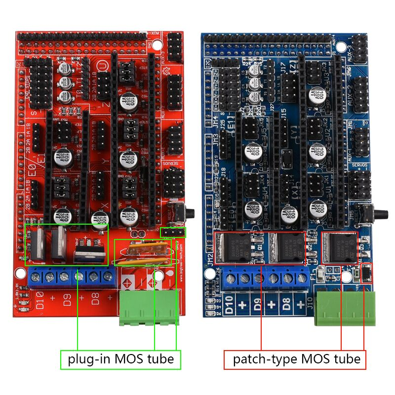 Upgrade Ramps 1.5 Base on Ramps 1.4 Control Panel Board Expansion Board For 3D Printer 25