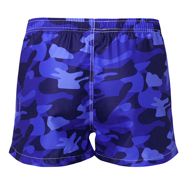 Mens Summer Fashion Camo Quick Drying Beach Shorts Surf Swim Trunks