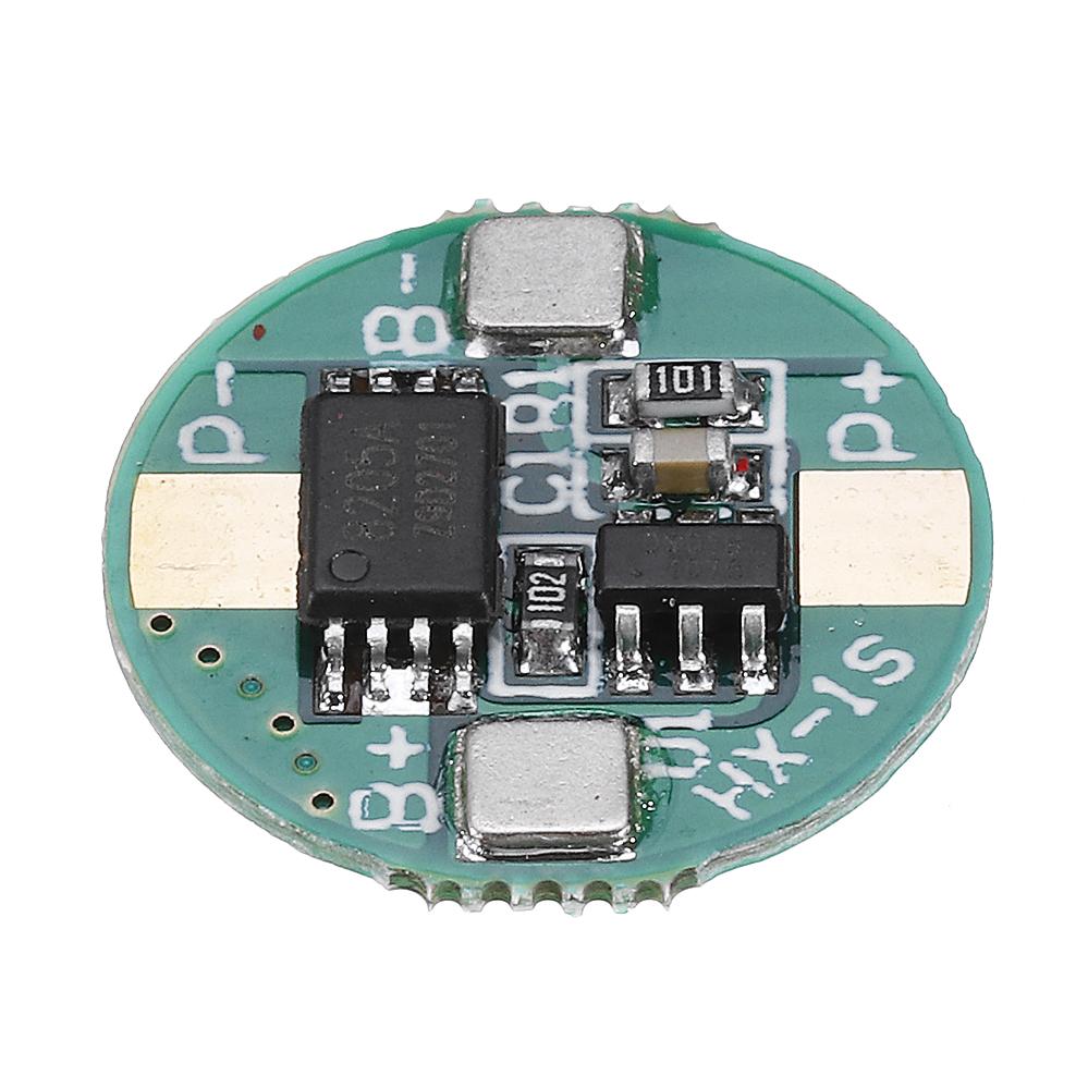 1S 3.7V 18650 Литиевая плата защиты Батарея 2.5A Li-ion BMS с защитой от перезаряда и перегрузки