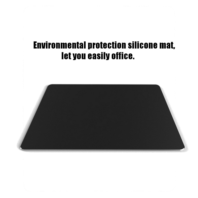 Aluminium Alloy Mouse Pad With Non-slip Base 5