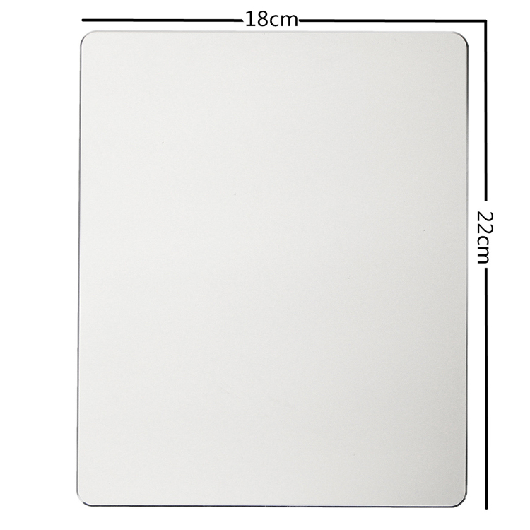 Aluminium Alloy Mouse Pad With Non-slip Base 7