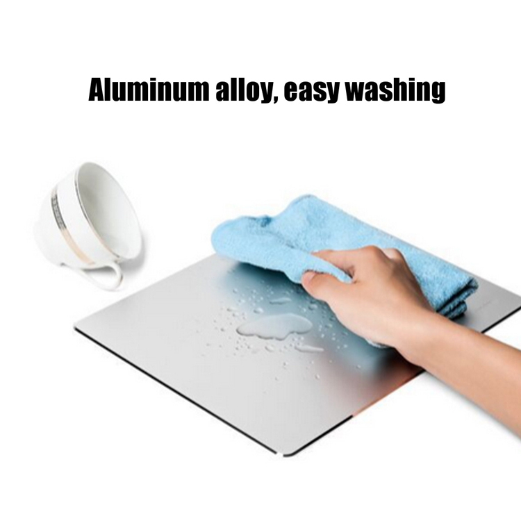 Aluminium Alloy Mouse Pad With Non-slip Base 6