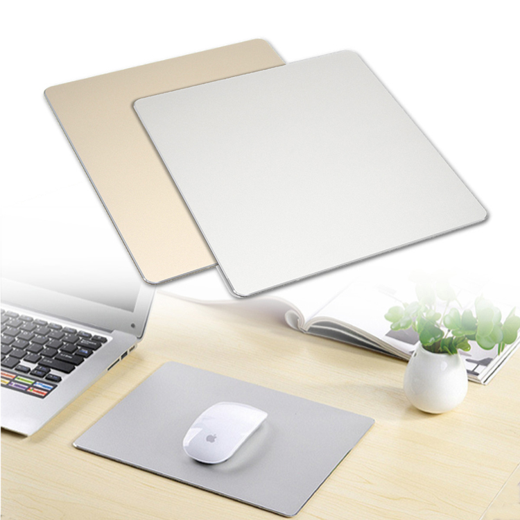 Aluminium Alloy Mouse Pad With Non-slip Base 1