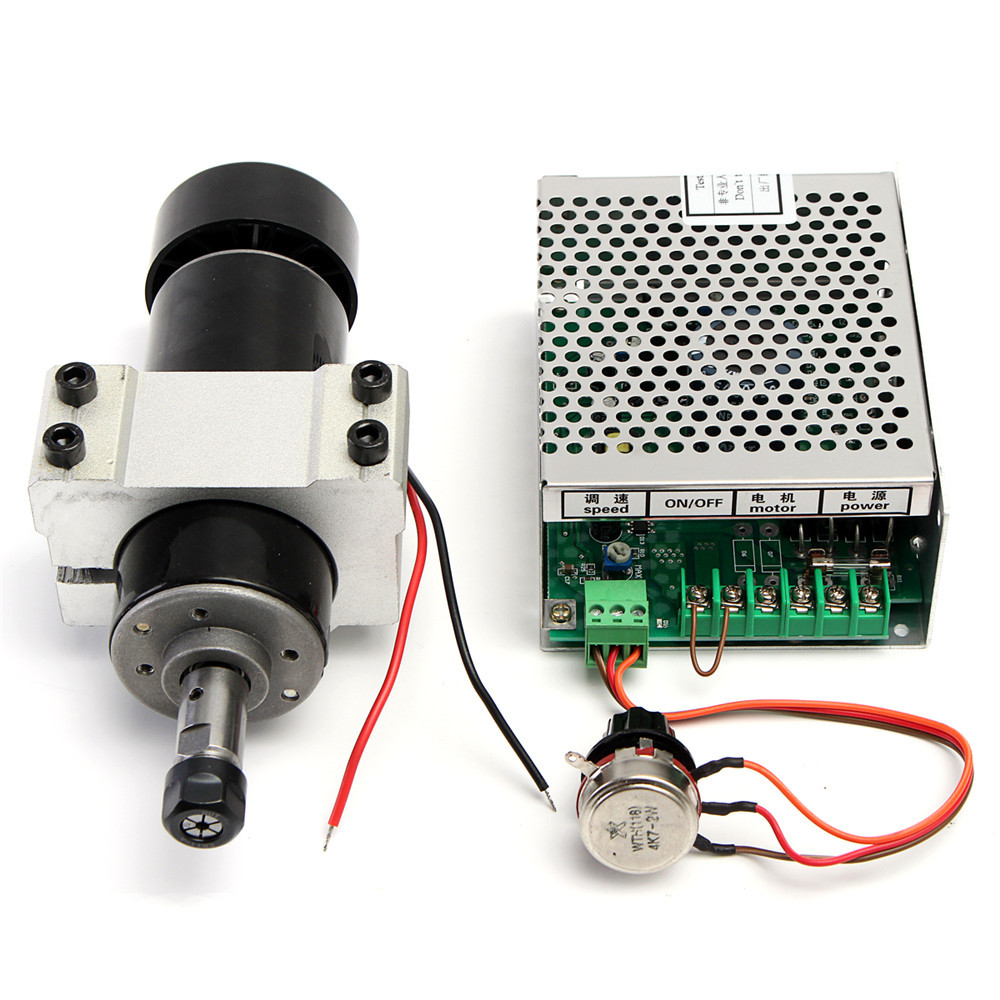 110-220V  500W Spindle Motor with Speed Governor and 52mm Clamp for CNC Machine