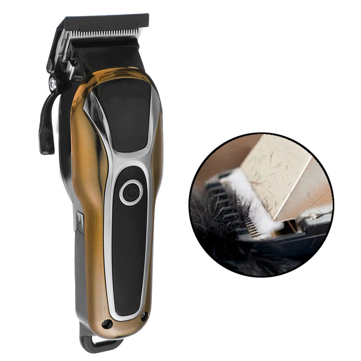 Surker SK-803 LCD Display Electric Hair Clipper H