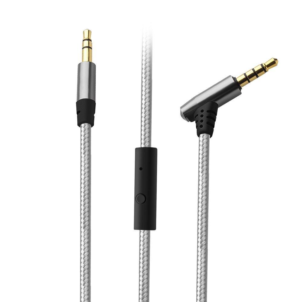 Tsumbay 3,5 мм между мужчинами AUX-кабель 1M с Микрофон для Наушники