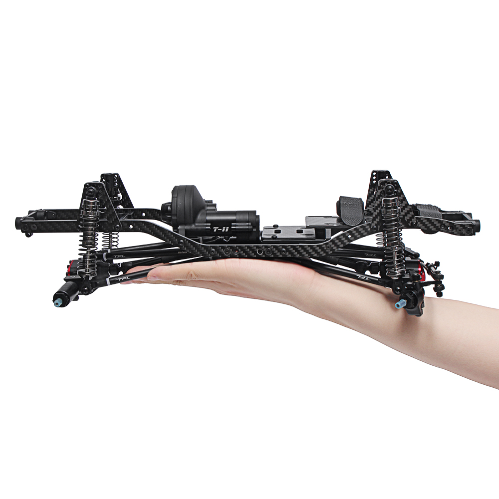 TFL T11 Crawler Frame Metal Chassis Set without Electronic Components for SCX10Ⅱ 90046 90047 Rc Car