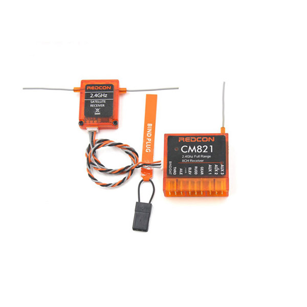 CM821 2 4G 8CH CM821 RC Receiver With Satellite for RC Drones
