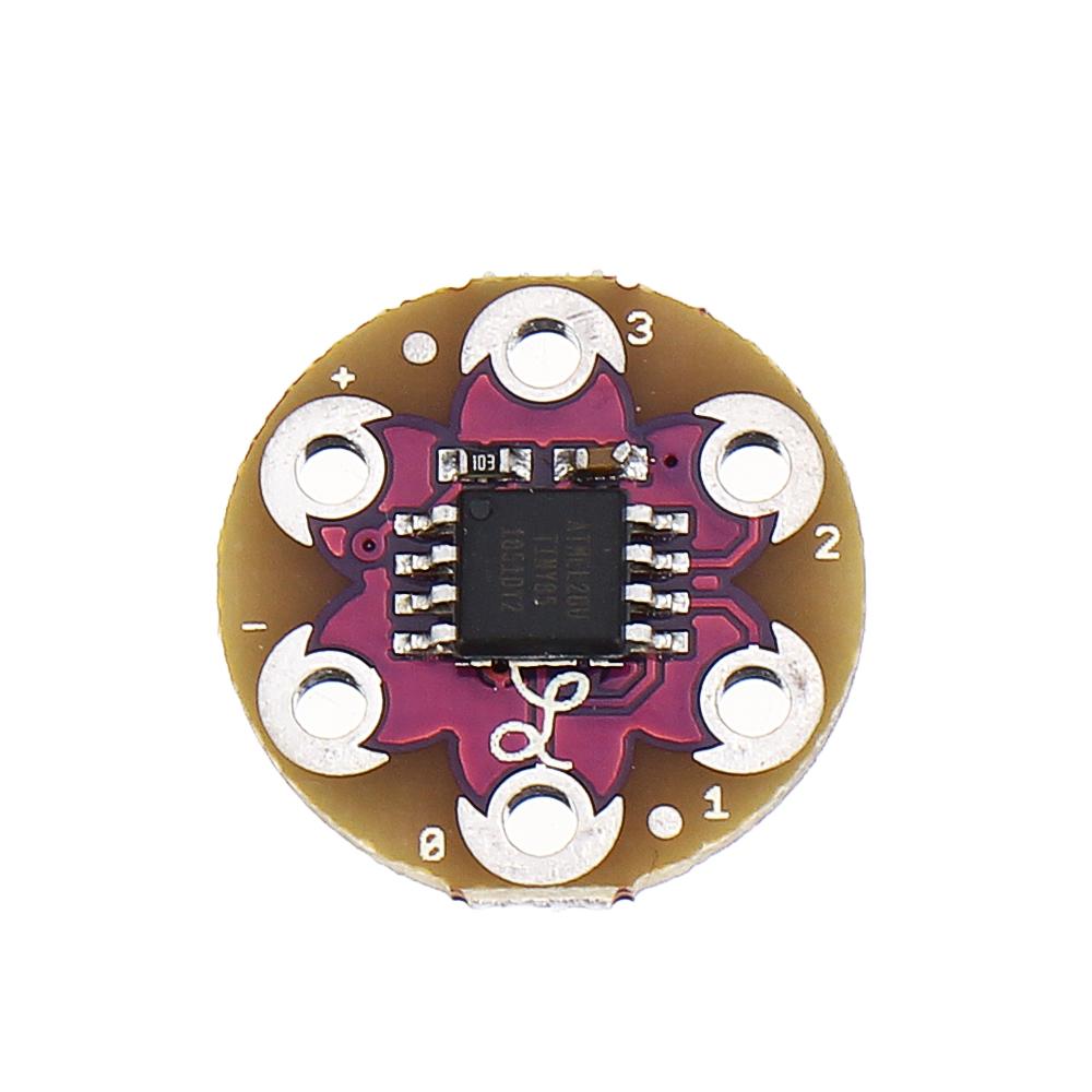 LilyTiny LilyPad Совет по развитию Носимая электронная текстильная технология с микроконтроллером ATtiny по цене 169