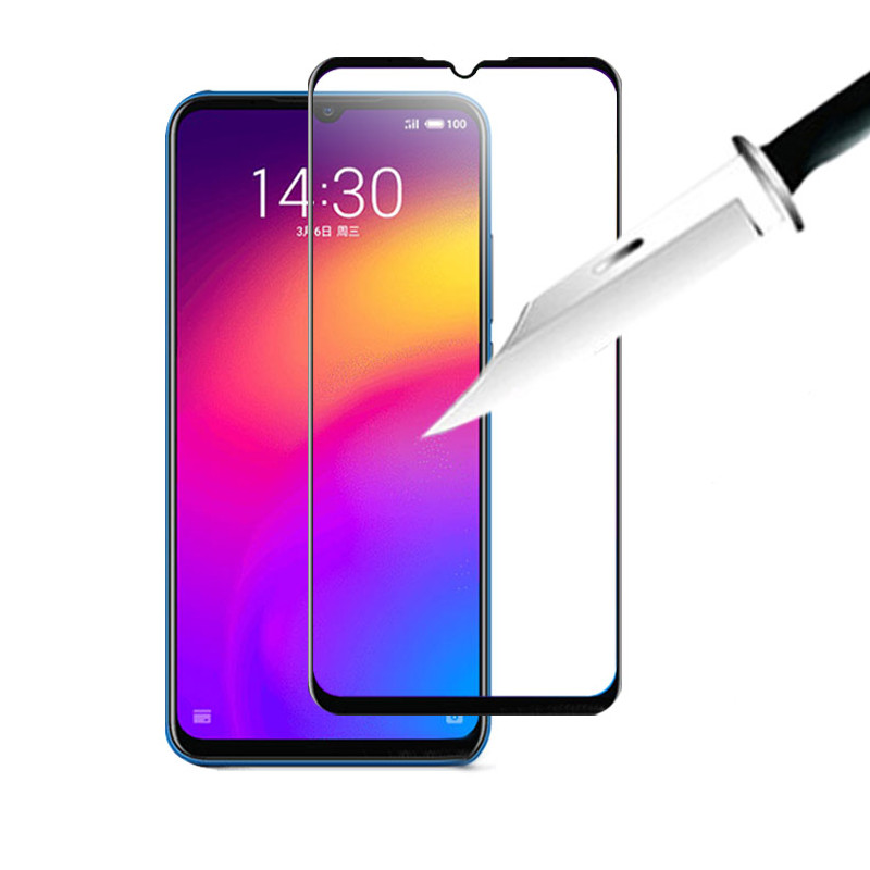 Bakeey Anti-explosion Full Screen Cover Full Glue Tempered Glass Screen Protector for Meizu Note 9