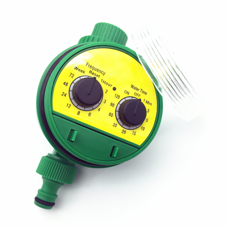 English Electronic Intelligence Garden Irrigation System Timer Controller Water Programs Connection G3 / 4 Thread Faucet