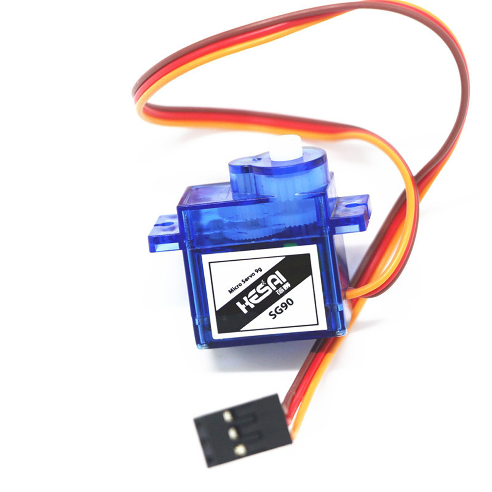 Hesai SG90 9g Micro Analog Servo Plastic Gear High Output 1.5kg 25cm for RC Airplane Robots 250 450 Helicopter Car Boat DIY 2pcs