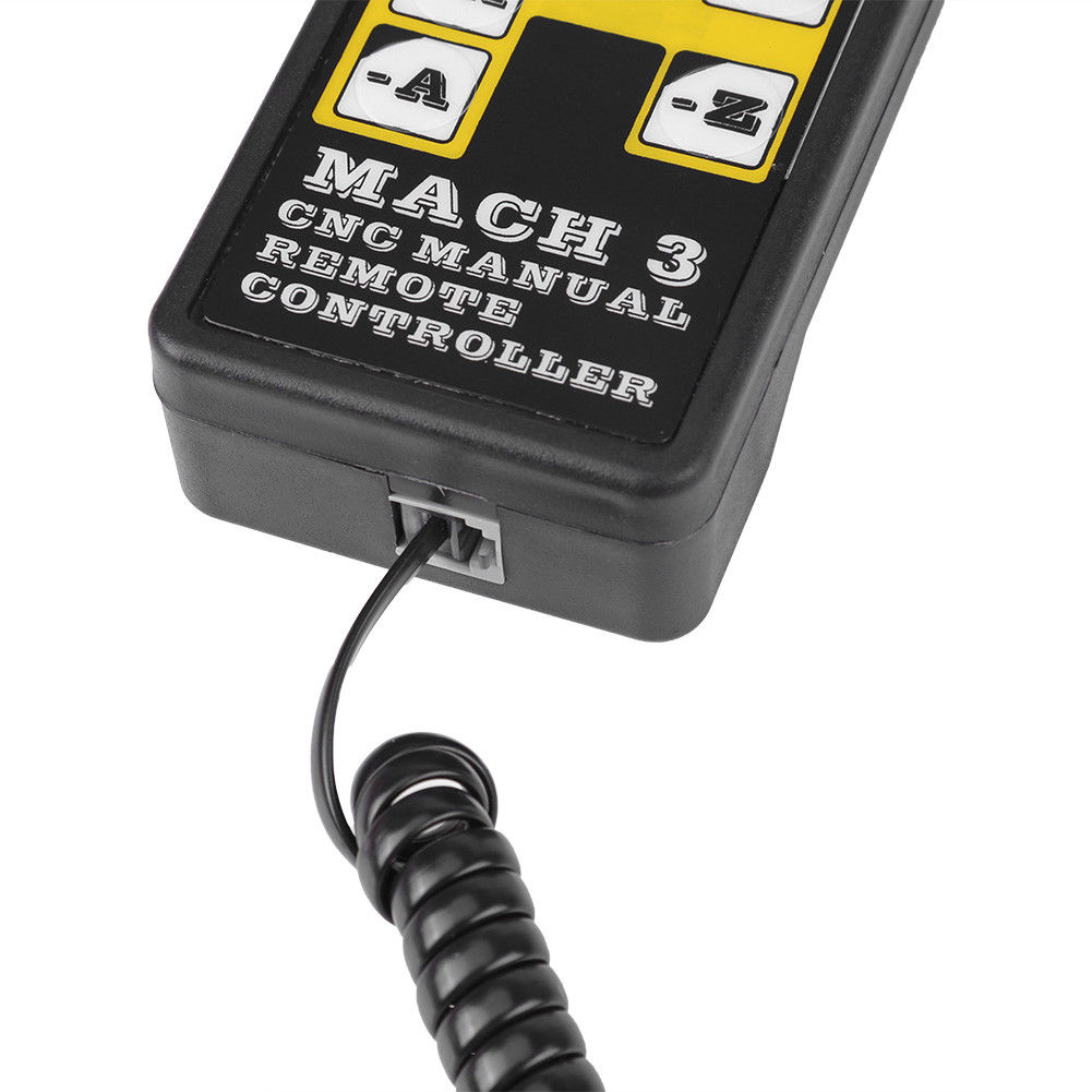 Machifit 4 Axis USB Pendant CNC Handwheel Engraving Numerical Remote Controller for MACH3