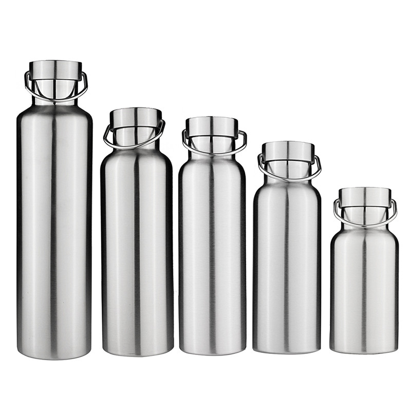 Stainless Steel Thermos Water Bottle Double Wall Vacuum Insulated with Stainless Cap
