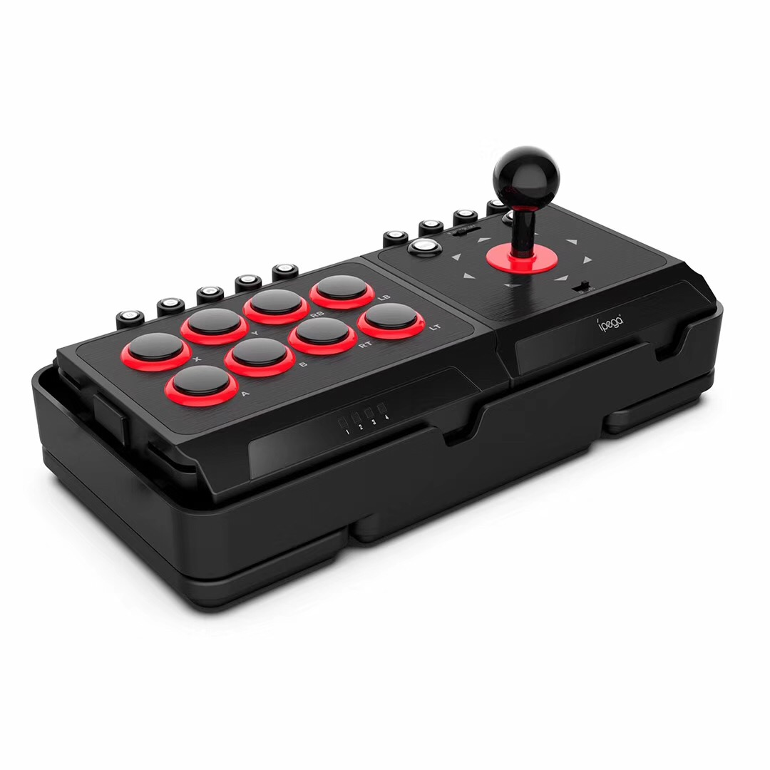 iPega PG-9059 DC5V USB Fight Joystick Arcade Stick for Nintendo Switch NS PS4 PS3 PC Android Game Controller with Turbo Macro