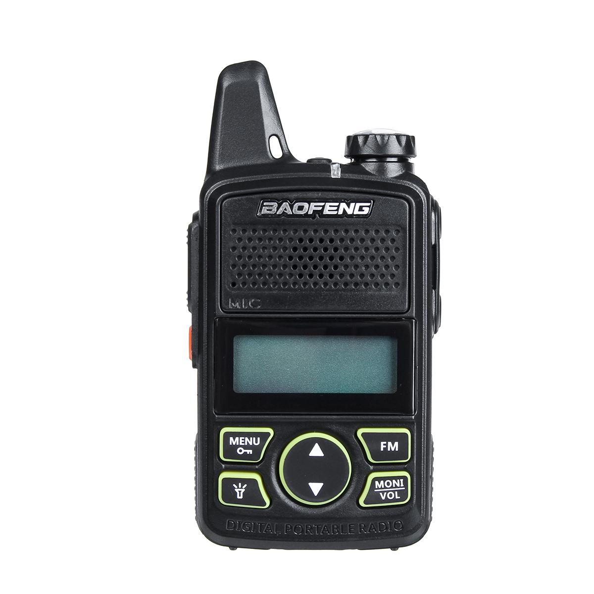 Baofeng T1 Plus 15 Вт Двойной Стандарты Ручной 50 CTCSS Тон Двухсторонний Радио Walkie Talkie УВЧ 400-470 МГц Мини Walkie Talkie