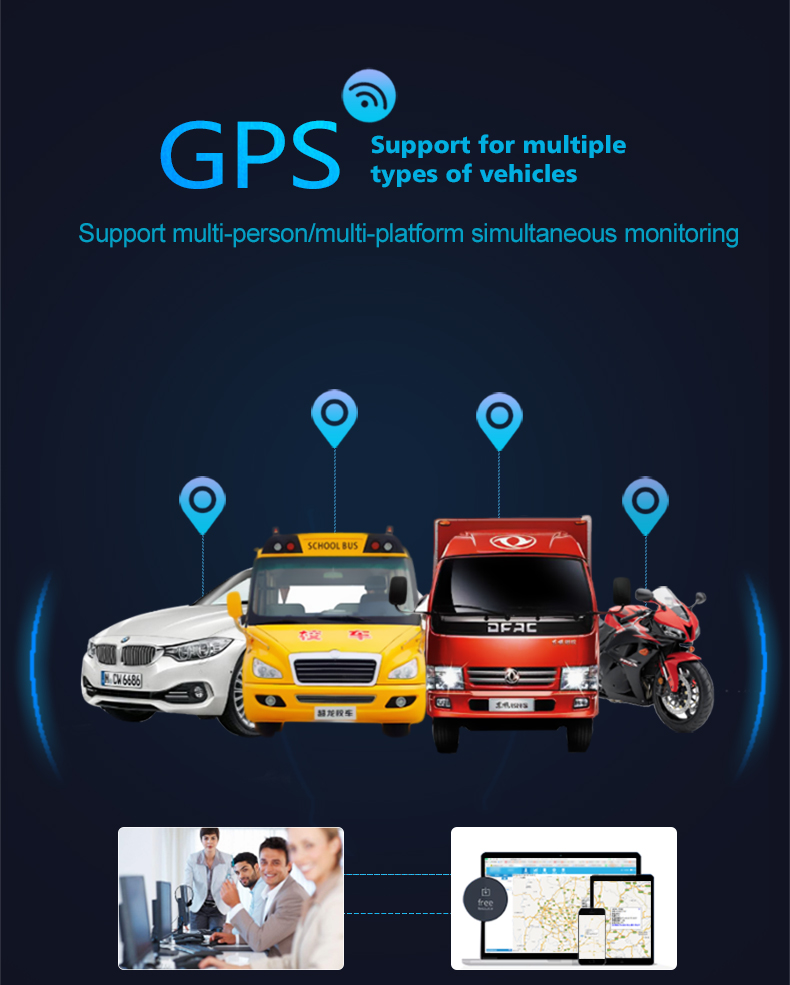 CJ720 Global Version Relay GPS Tracker GSM Locator Anti-theft Cut off Oil Power System Function