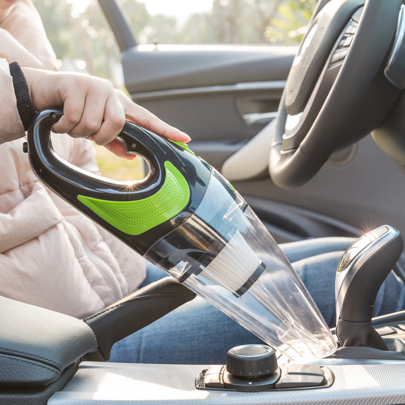 Handheld Cordless Vacuum Cleaner 4000Pa Strong Suction, 20000rpm High Speed, 120AW Suction Power, 30min Long Battery Life for Home and Car