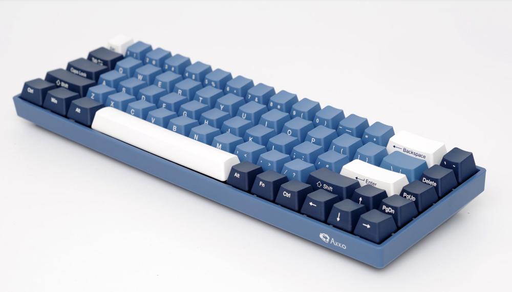 AKKO 3068 SP Ocean Star 68 Keys Cherry Switch Side Printed USB 2.0 Type-C Wired Mechanical Gaming Keyboard 9