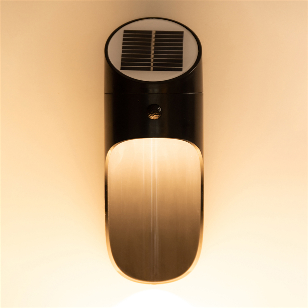 Bakeey Human Body Induction LED Solar Charging Indoor Outdoor Wall Lamps