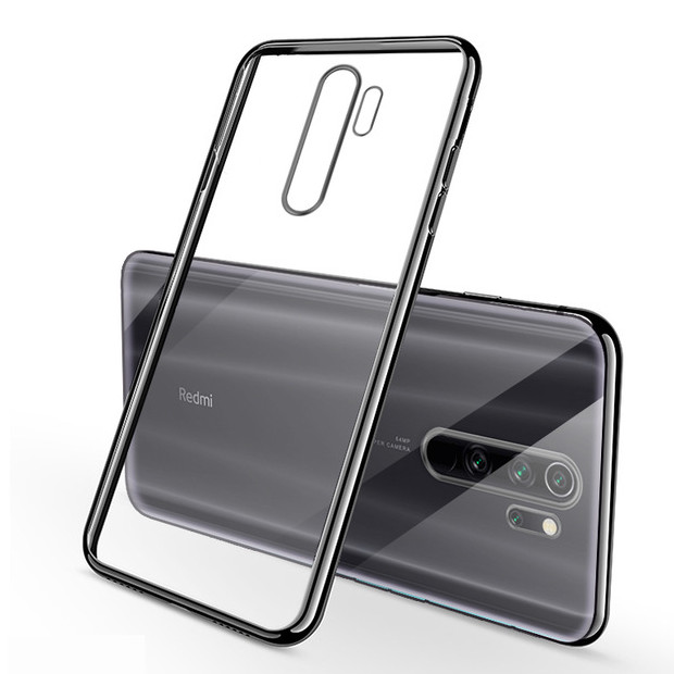 Bakeey Ultra-thin Shockproof Elac-plating Transparent PC Hard Protective Case For Xiaomi Redmi Note 8 PRO