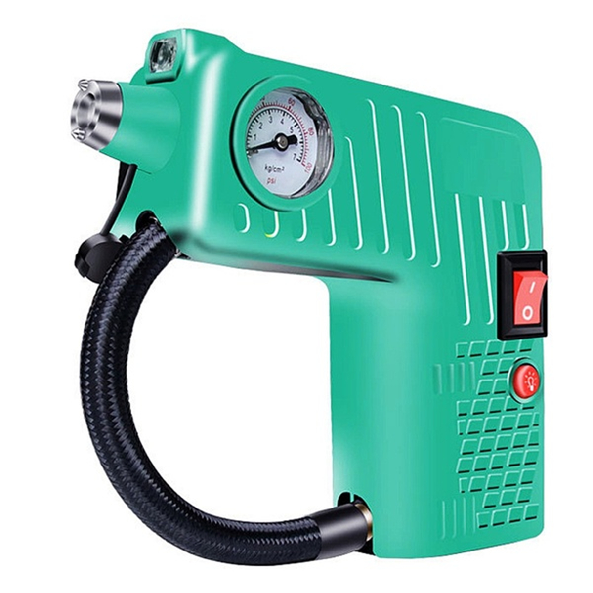 12V Portable Air Tyre Inflator Pump 8