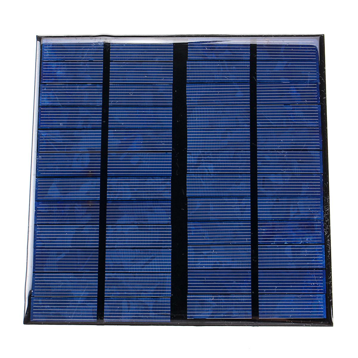 12V 3W 145*145mm 250mA Mini Polysilicon Solar Panel