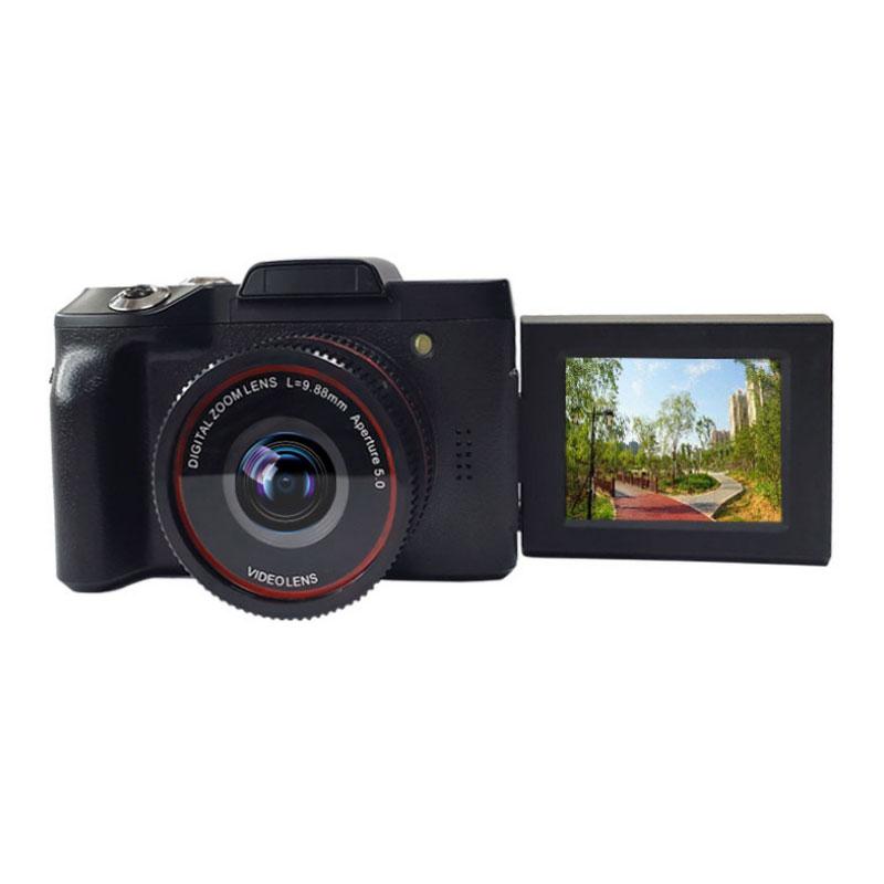 16-мегапиксельный 16-кратный зум 1080P HD Вращающийся экран Mini Mirroless Digital камера Видеокамера DV со встроенным Микрофон
