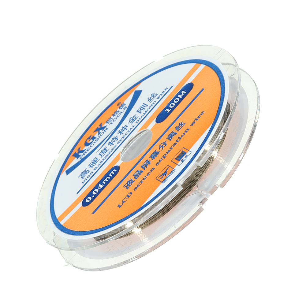 100M LCD Screen Separation Wire Solder Wire High Hardness Special Diamond Wire 0.04mm/0.05mm/0.06mm/0.08mm/1.0mm