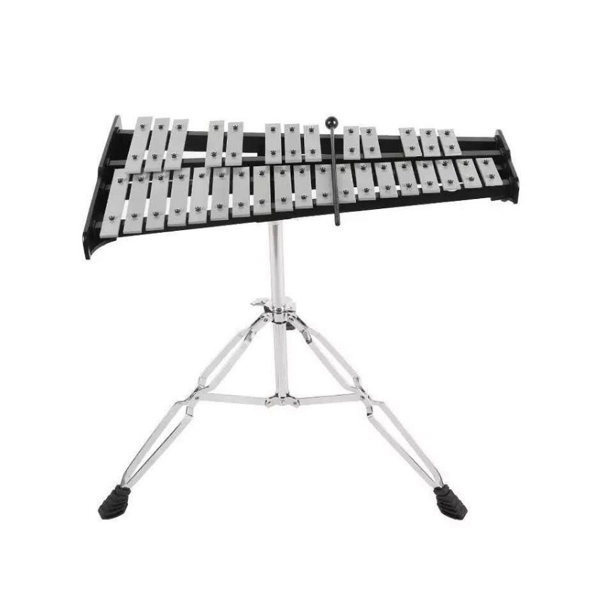 32 Note Xylophone Aluminum Piano Orff Instrument with Bag