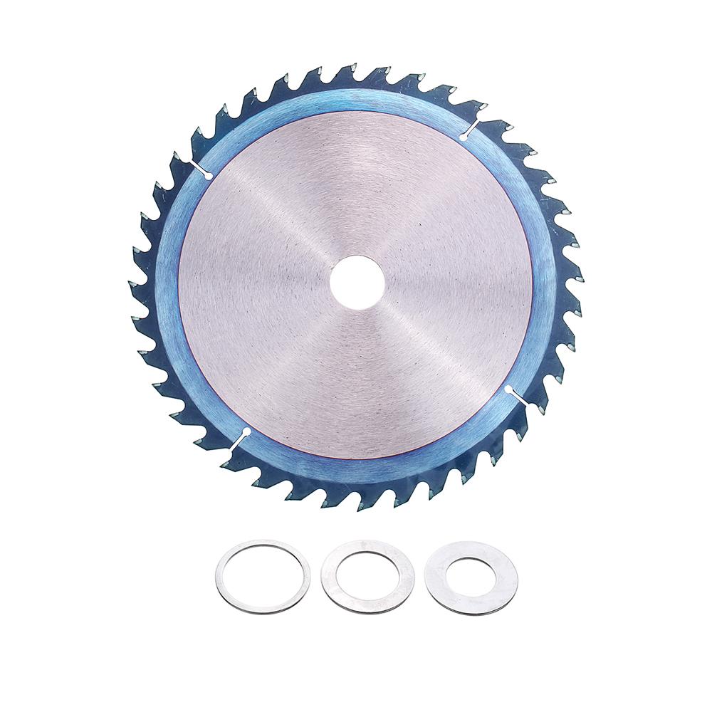 Drillpro 250mm HSS Blue Nano Coating Saw Blade 40 Teeth Wood Grinder Wheel Disc for Woodworking 9