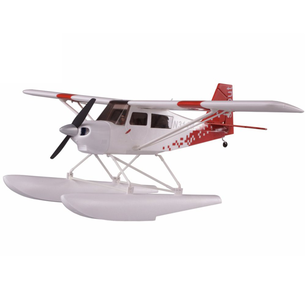 Nicesky Decathlon Scout 680mm Wingspan EPS RC Airplane Seaplane With Landing Gear & Floats KIT/PNP
