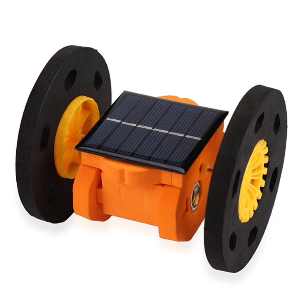 DIY Солнечная Самобалансирующийся RC Робот Авто Обучающие Набор Подарок Для Детей