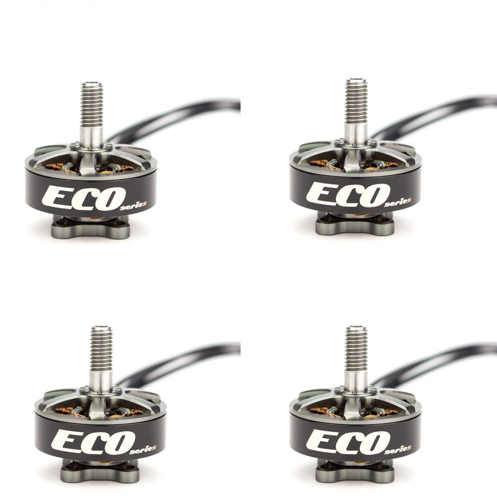 4X Emax RS2306 White Edition 2750KV 3-4S Racing Brushess Motor For FPV Racing