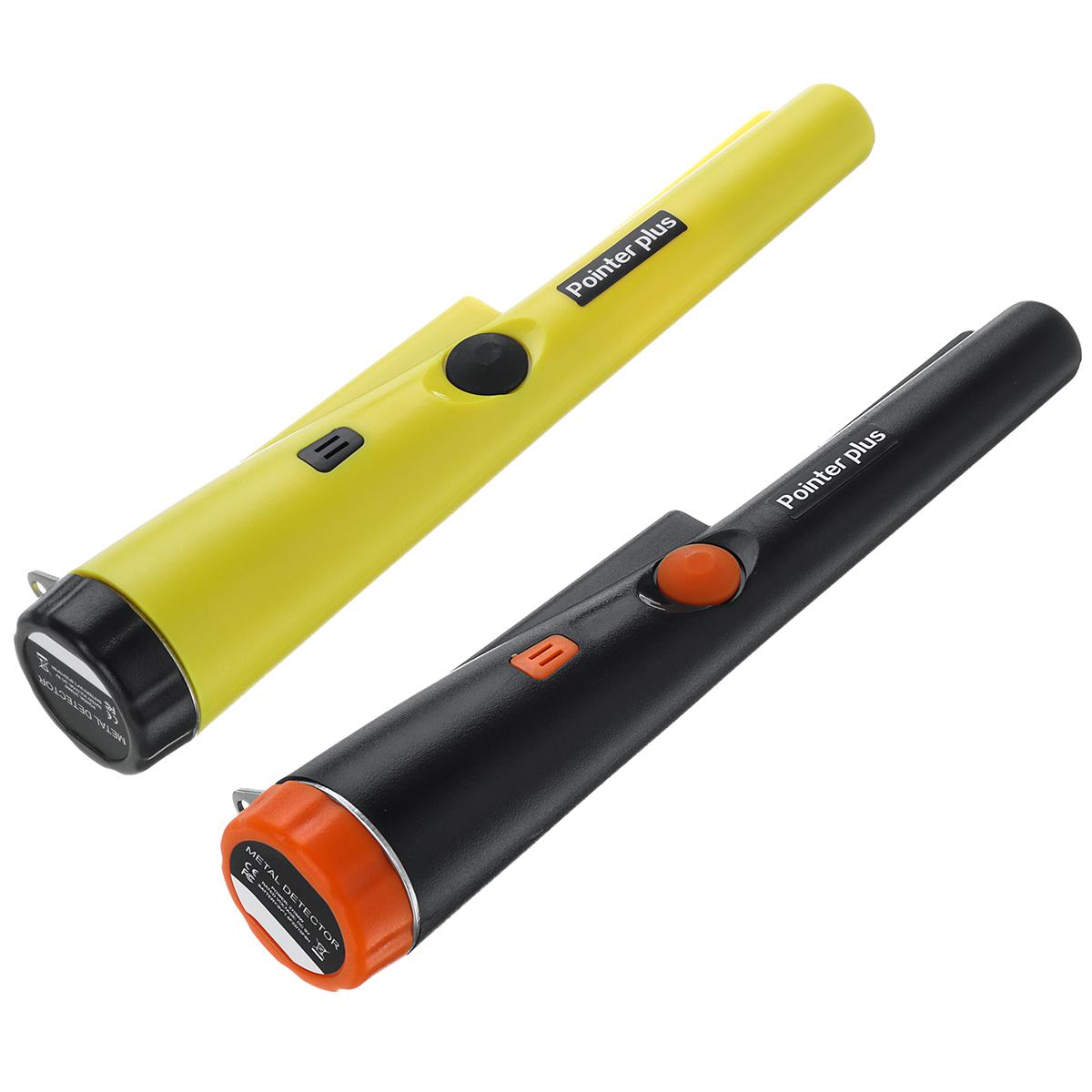 Metal Detector Pinpointing Digger Garden Detecting Waterproof Black/ Yellow